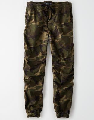 AE Спортивные брюки цвета хаки с технологией Flex