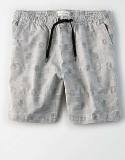 Ae Ne(X)T Level Plaid Pull On Short by American Eagle Outfitters