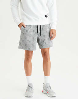 AE Ne(X)t Level Plaid Pull-on Short