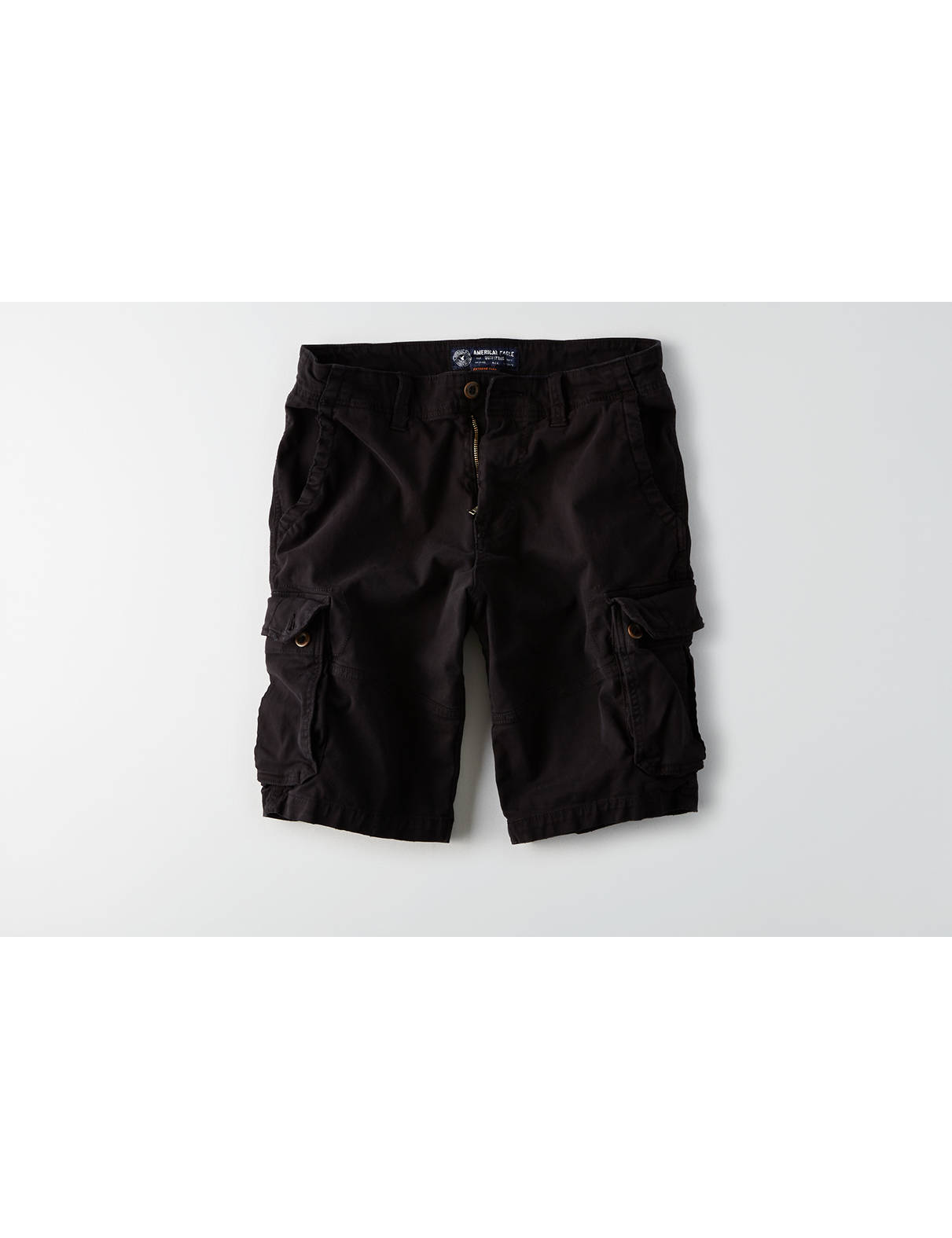 Display product reviews for AE Extreme Flex Longer Length Cargo Short