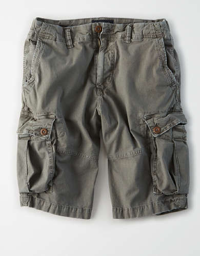 AE Flex Longer Length Cargo Short