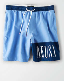 "AE 8"" Swim Trunk"