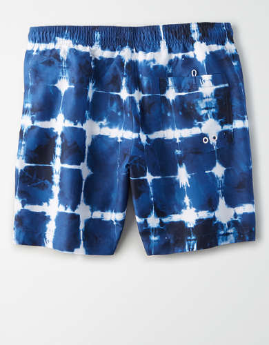 "AE 6"" Americana Swim Trunk"
