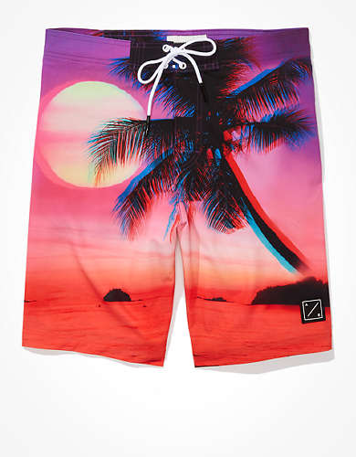 "AE 10"" Sunset Palm Classic Board Short"