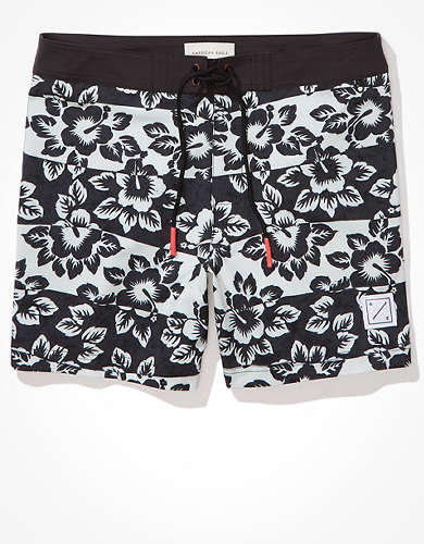 "AE 6"" Tropical Floral Board Short"