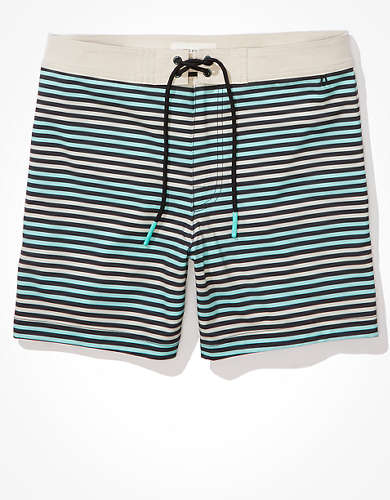 "AE 6"" Stripe Board Short"