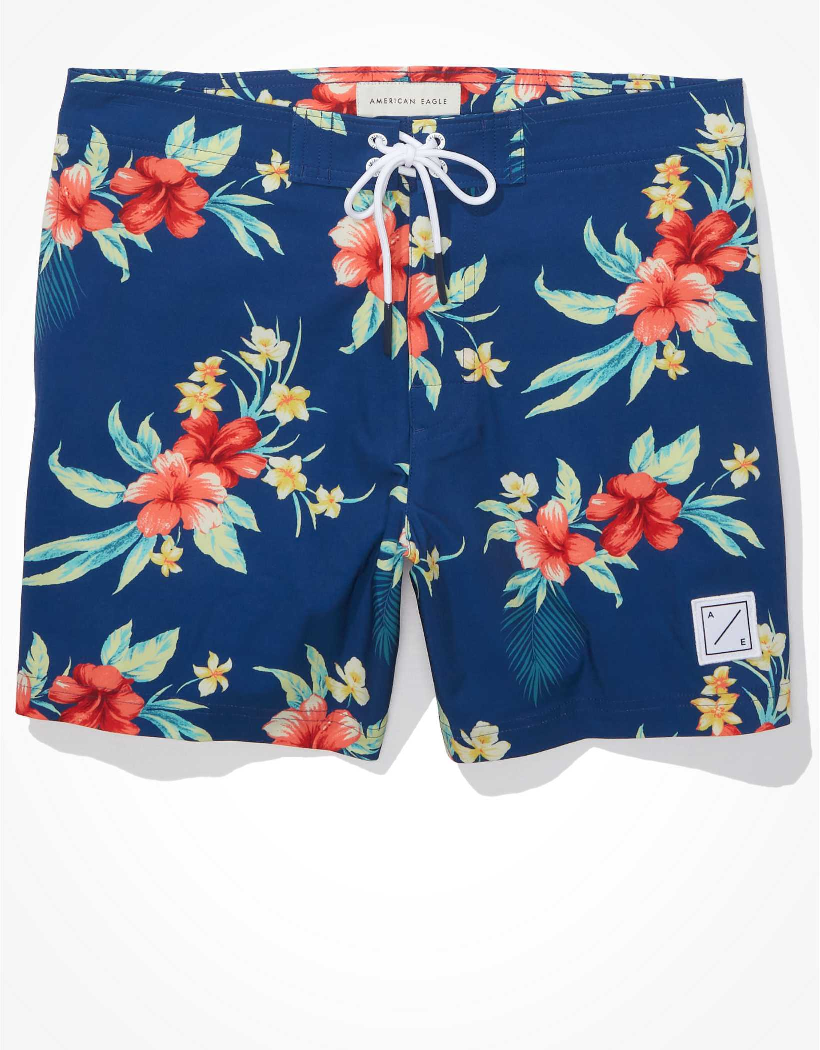 "AE 6"" Floral Board Short"