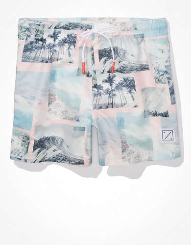 "AE 5"" Photoreal Swim Trunk"