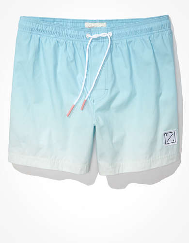 "AE 5"" Ombre Swim Trunk"