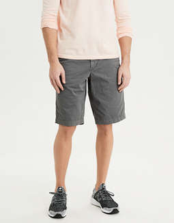 AE Ne(X)t Level Longer Length Khaki Short