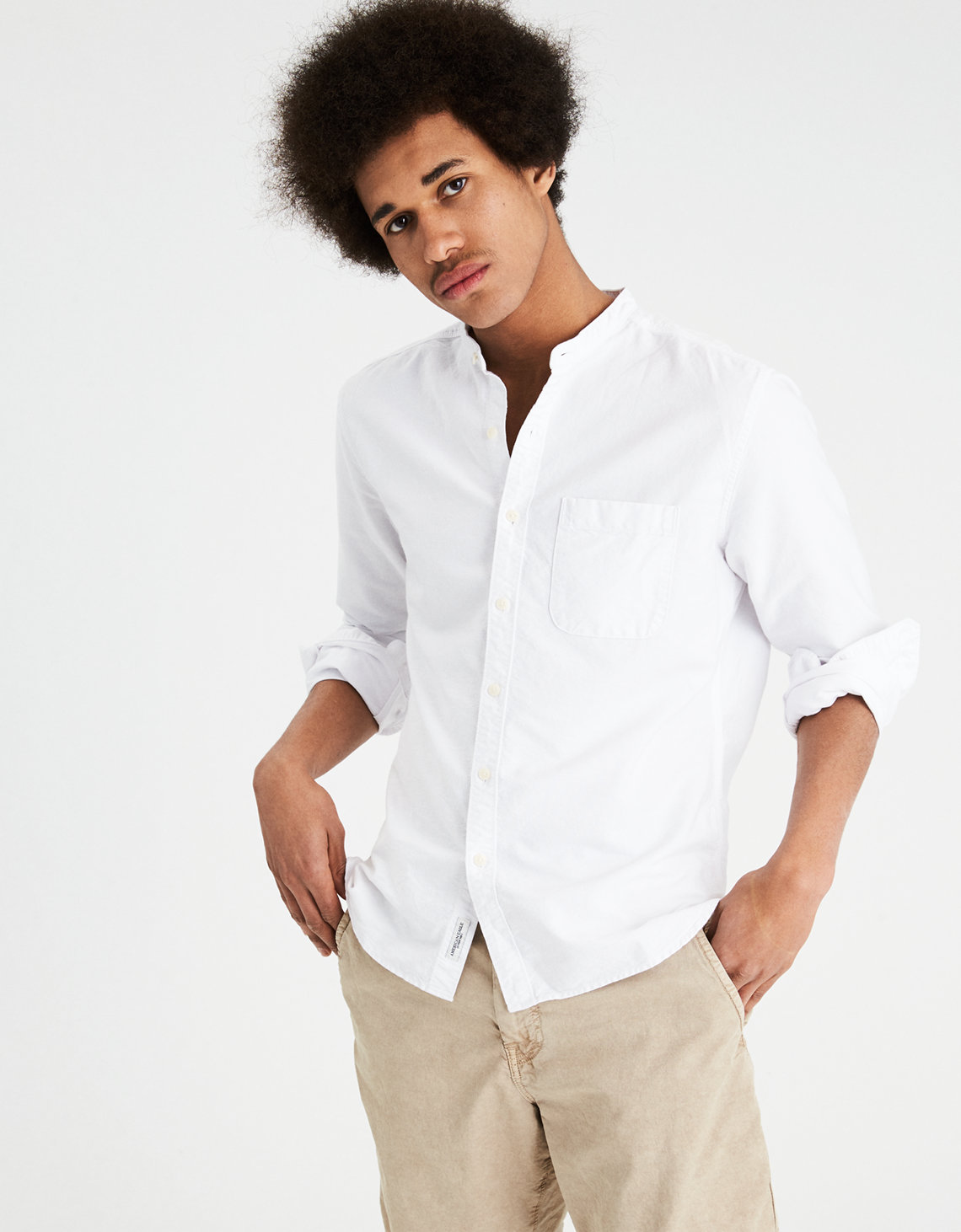 Mens Oxford Shirts | American Eagle Outfitters