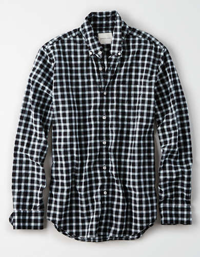AE Poplin Button Down Shirt