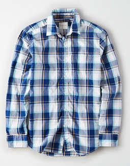 AE Long Sleeve Button Up Shirt