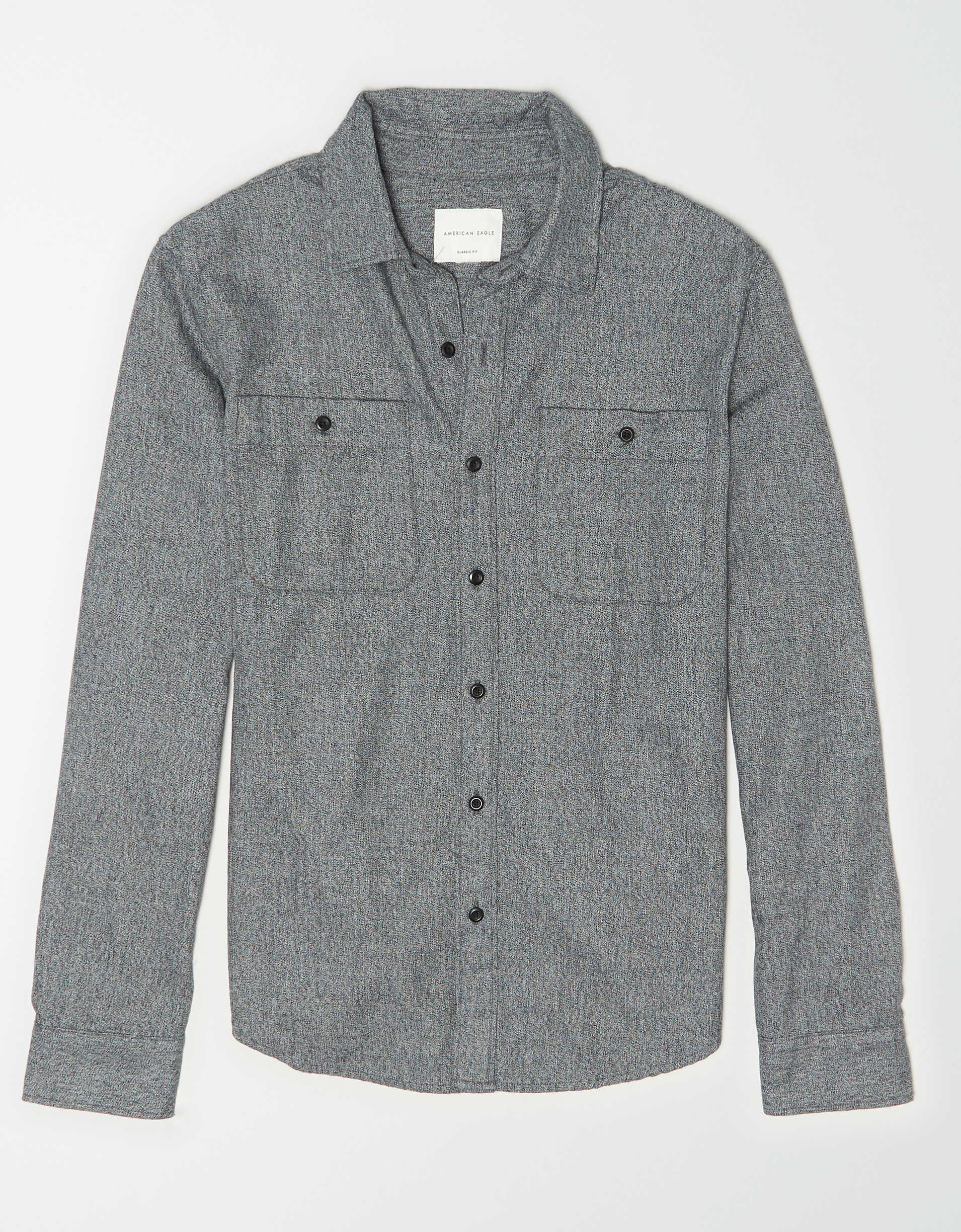 AE Twill Button Up Shirt