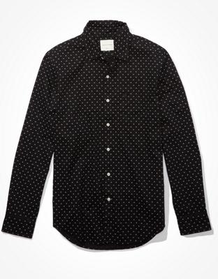 AE Рубашка на пуговицах из поплина