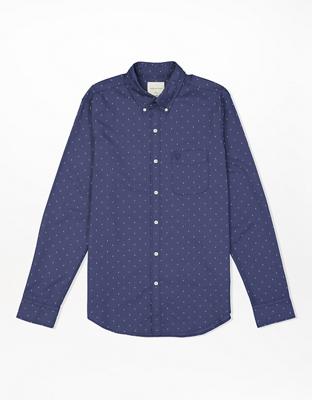 AE Poplin Button-Up Shirt