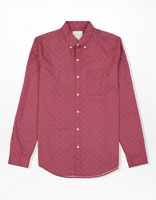 Поплиновая рубашка на пуговицах AE