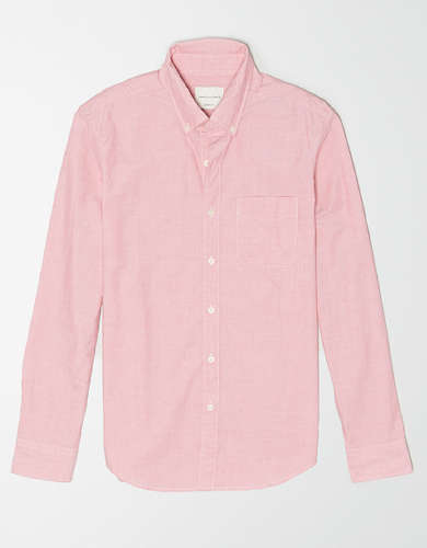 AE Poplin Button Up Shirt