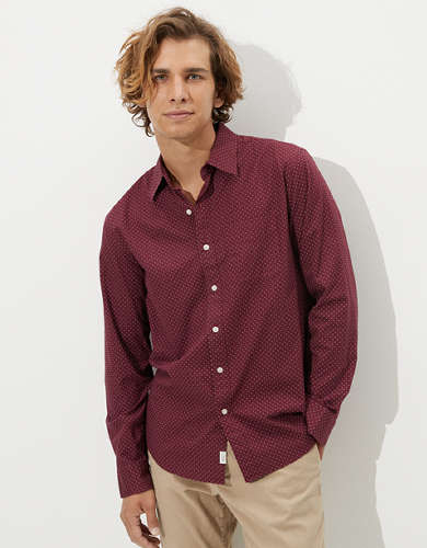 AE Poplin Button-Up Shirt