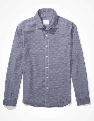 AE Chambray Button-Up Shirt