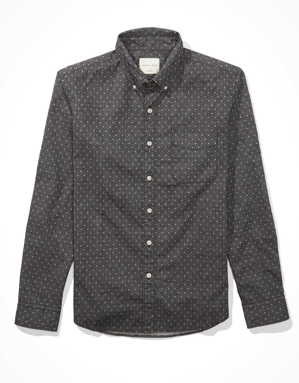 AE Brushed Button Up Shirt