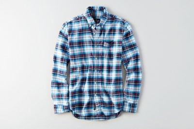 Classic Plaid Oxford Shirt
