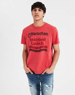 Ae Instant Lunch Graphic Tee by American Eagle Outfitters