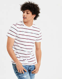 T Shirt Rayada Ae by American Eagle Outfitters