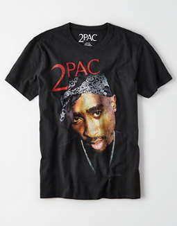 AE 2PAC Graphic T-Shirt
