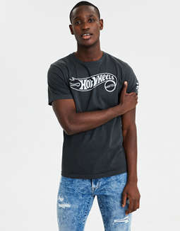Ae Hot Wheels Short Sleeve Graphic Tee by American Eagle Outfitters