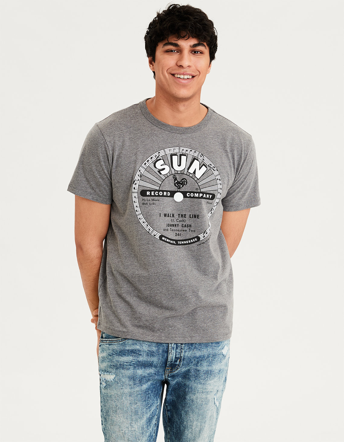 4a41b07f AE Sun Records Graphic Tee. Placeholder image. Product Image