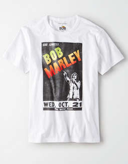AE Bob Marley Graphic T-Shirt