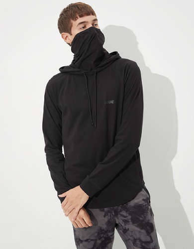 AE City Hoodie Tee With Gaiter