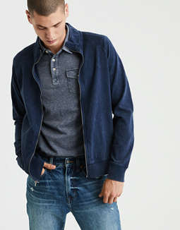 Ae Full Zip Bomber Jacket by American Eagle Outfitters