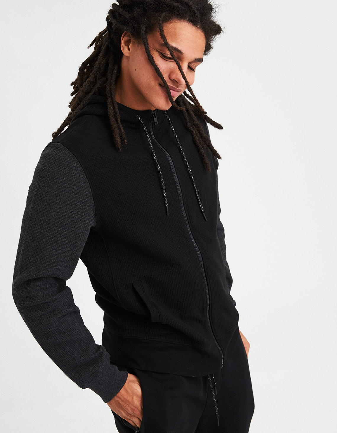 Ae Ribbed Zip Up Hoo Placeholder Image Product