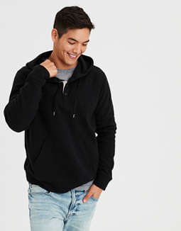 ed3839f9 Shoptagr | Ae Thermal Henley Hoodie by American Eagle Outfitters