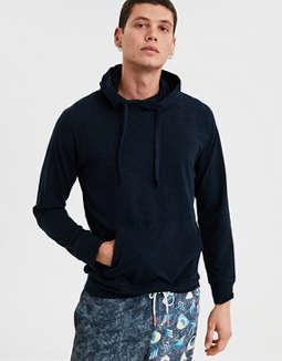 Ae Long Sleeve Hoodie Tee by American Eagle Outfitters