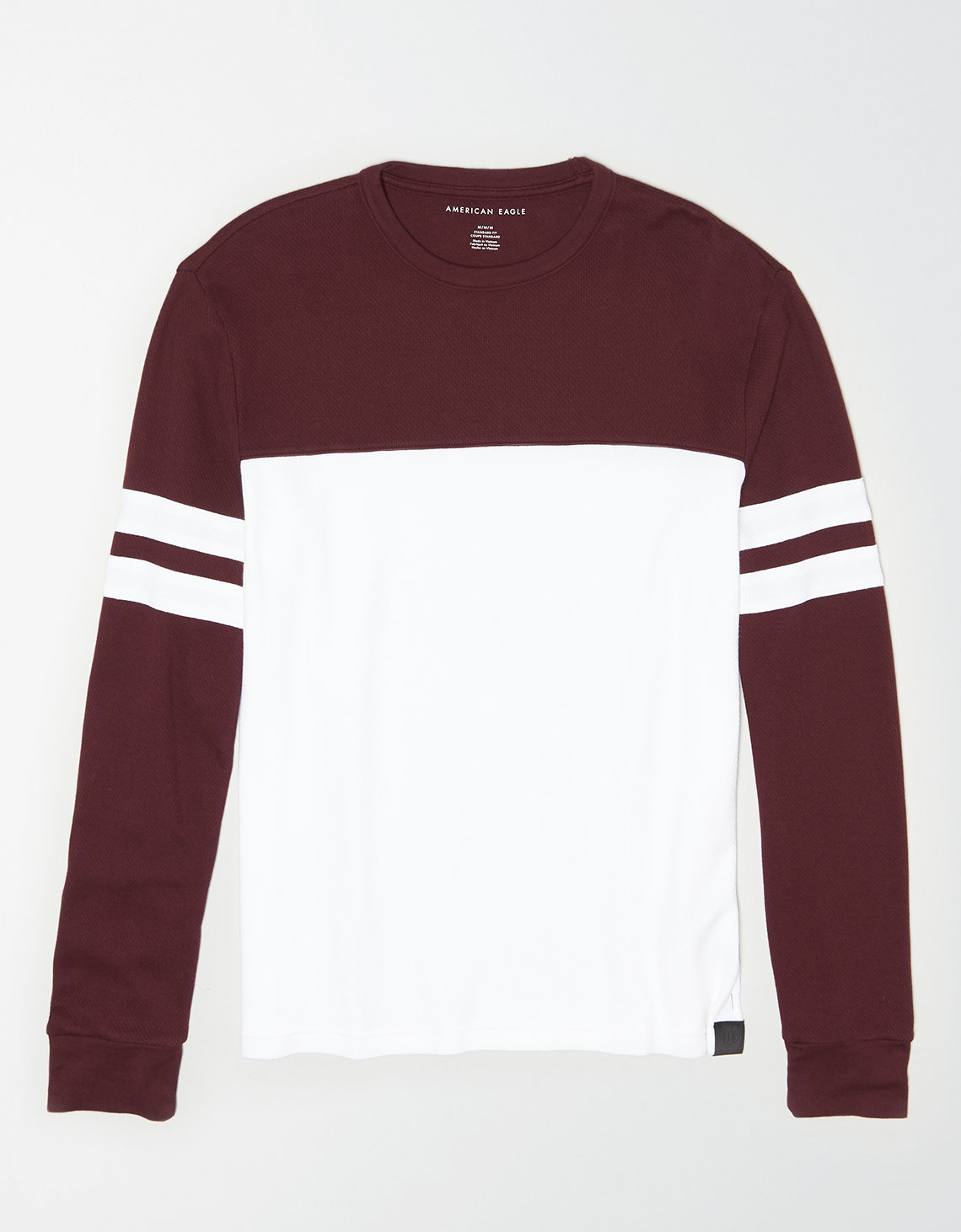 AE Long Sleeve Thermal Color Block T-Shirt