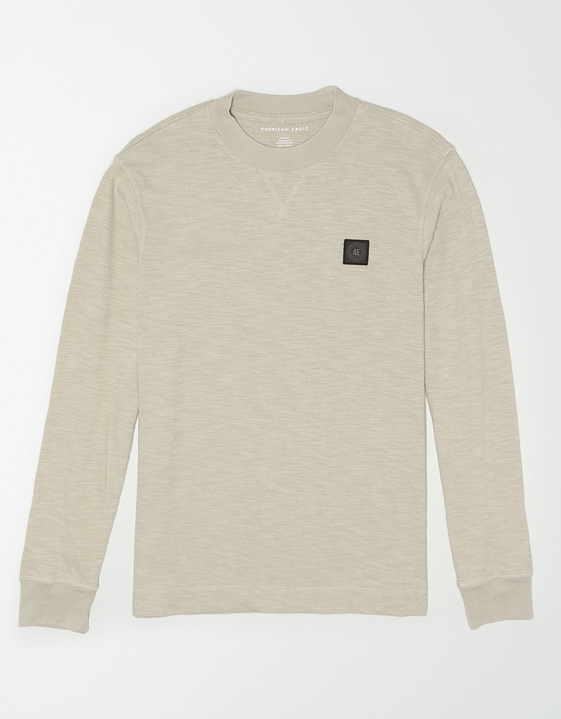 AE Long Sleeve Slub Workwear T-Shirt