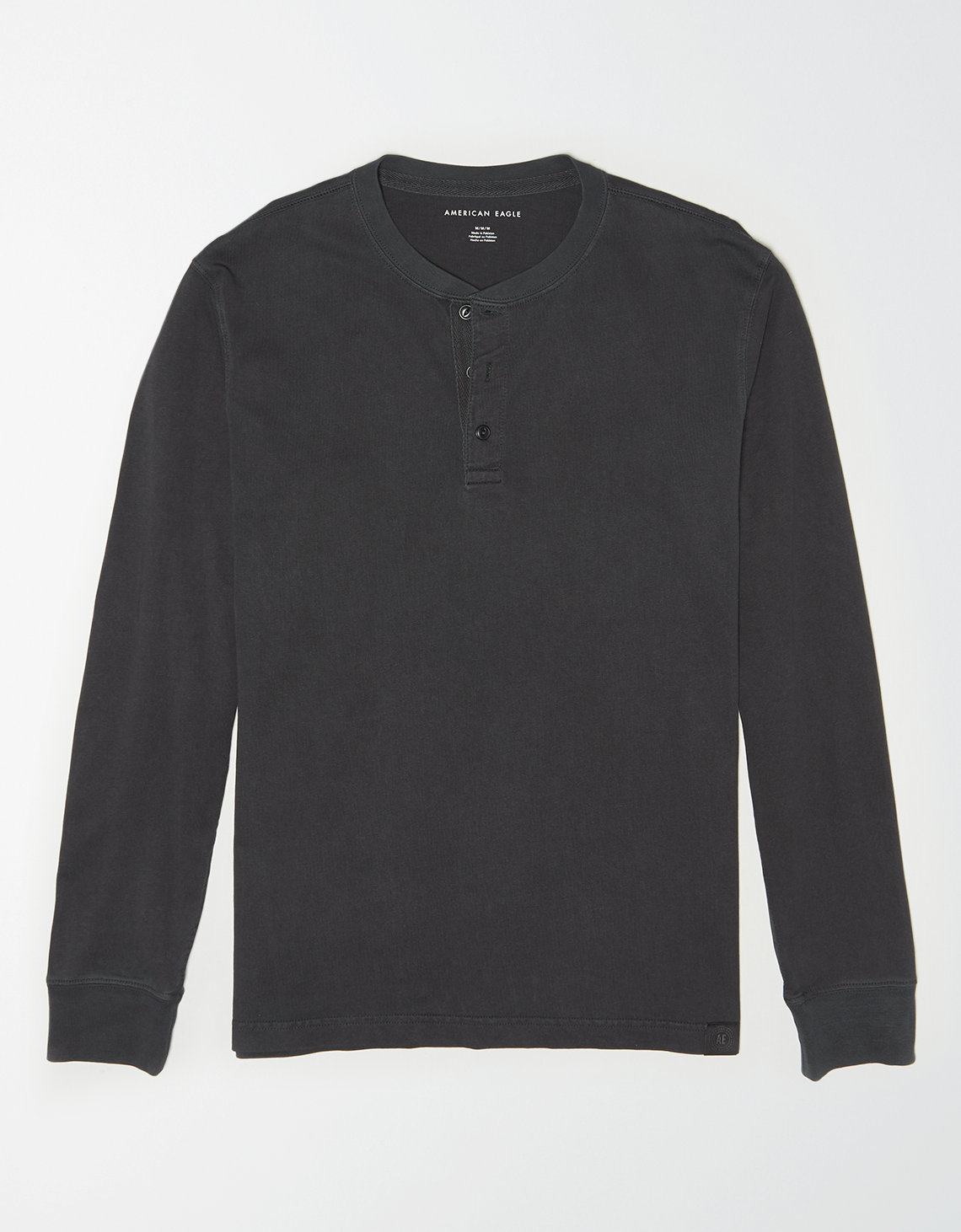 AE Long Sleeve Henley Shirt
