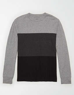AE Lightweight Thermal Color Block T-Shirt