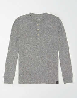 AE Long Sleeve Henley