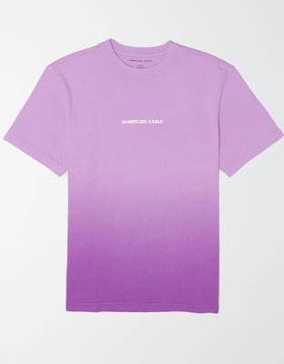 AE Short-Sleeve Dip-Dye Graphic T-Shirt