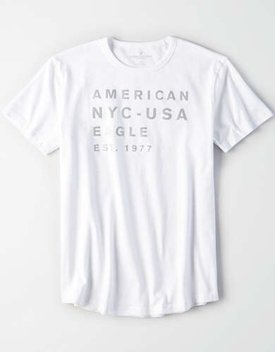 AE Reflective Graphic Tee -