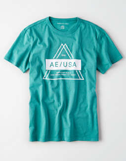 AE Short Sleeve Graphic T-Shirt
