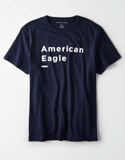 8623399a placeholder image AE Short Sleeve Graphic T-Shirt ...