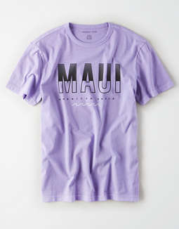 AE Maui Short Sleeve Graphic T-Shirt