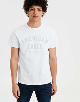 Ae Tonal Short Sleeve Graphic Tee by American Eagle Outfitters