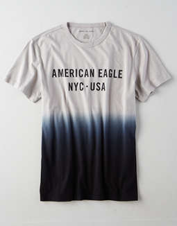 AE Dip Dye Graphic T-Shirt