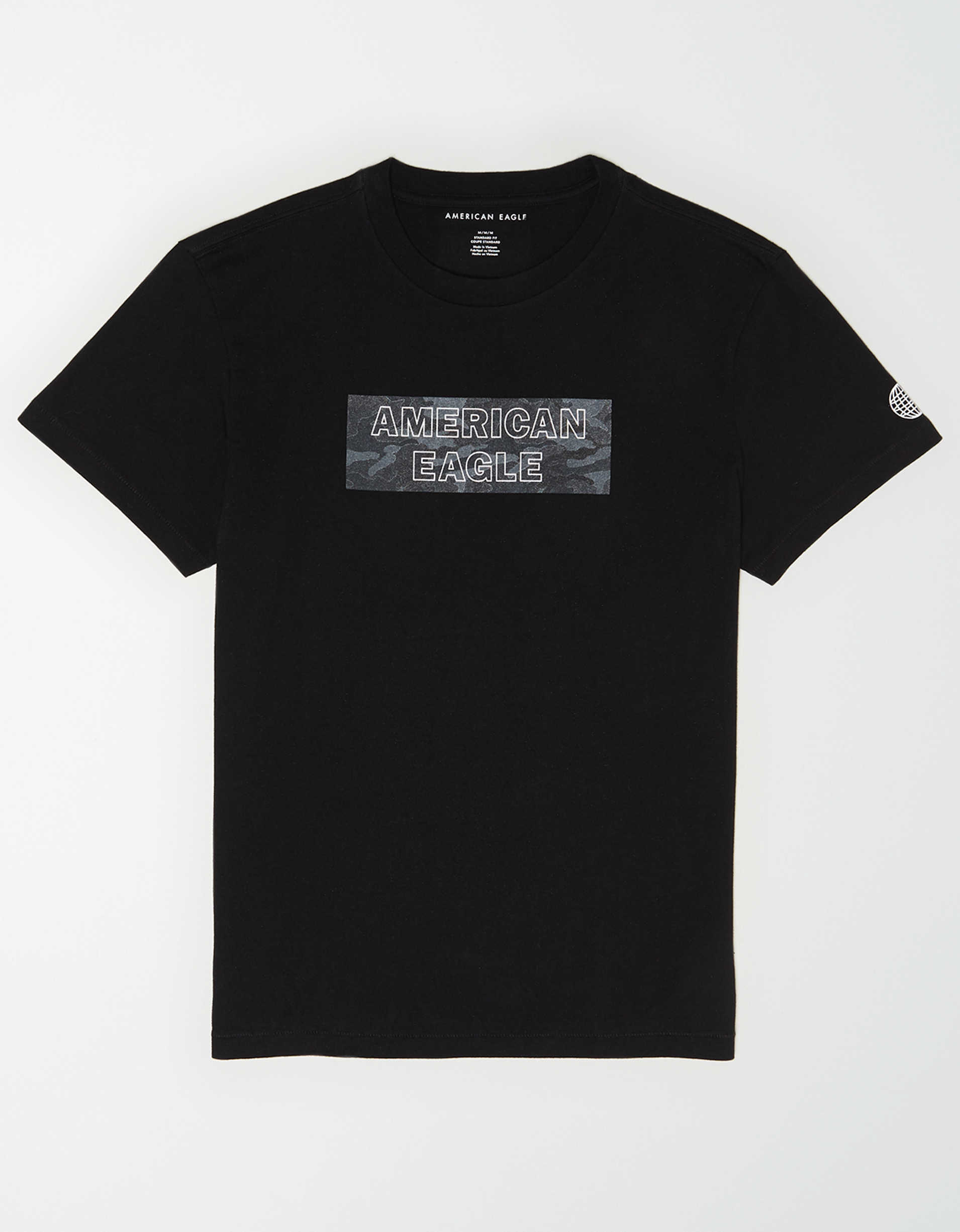 AE Camo Graphic T-Shirt